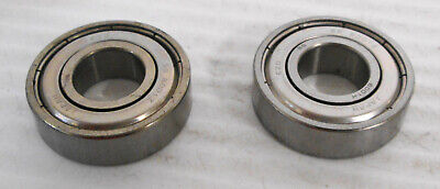 2-pc EZO SS 6200RS Stainless Ball Bearing  30mm x 9 mm x 10mm Bore NEW NO BOX