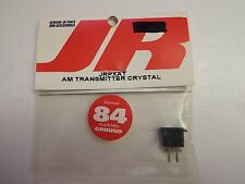 JR - AM TRANSMITTER CRYSTAL - CHANNEL 84 - 75.870 MHz - GROUND - MODEL# JRPXAT