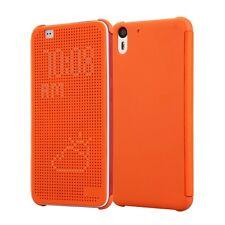 CUSTODIA ORIGINALE INVENTCASE ® per HTC DESIRE EYE DOT VIEW HC M160 CASE ARANCIO