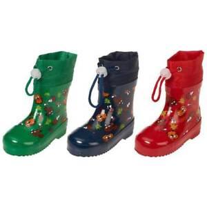 new style 04d20 c3167 Details zu Playshoes Gummistiefel Waldtiere gefüttert Größe 20-25 Farbwahl