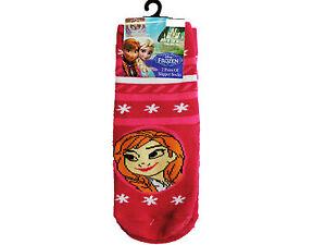 Girls 1//2//3 Pairs Frozen Elsa Socks,Character Fleece Slipper Socks,Birthday Gift