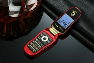 Unlock Car With Phone >> Details About F15 Fashion Global Unlock Cell Phone Quad Band Dual Sim Flip Car Key Mobile Red