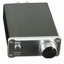 SMSL SA50 50Wx2 TDA7492 Class D  Amplifier + Power Adapter Silver .