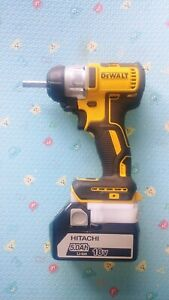 Dewalt-18v-Cordless-Brushless-Driver-Drill-To-Hitachi-Battery-Adapter