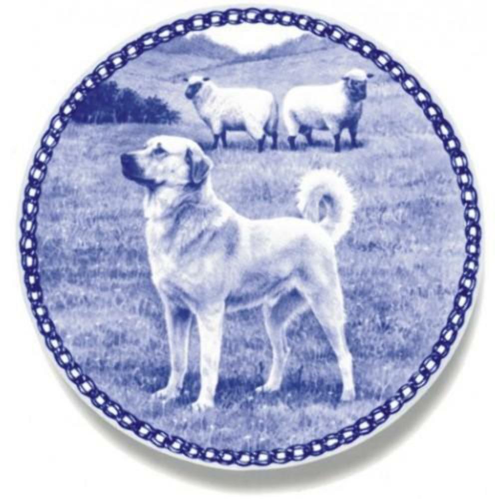 Anatolian Shepherd Dog - Dog Plate made in Denmark from the finest European Porc