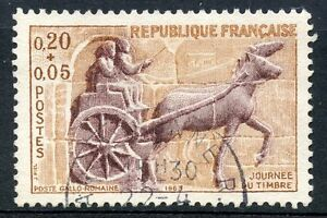 STAMP-TIMBRE-FRANCE-OBLITERE-N-1378-JOURNEE-DU-TIMBRE-1963