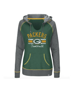 ... Hoodie  Image is loading NFL-Green-Bay-Packers-Majestic-Women-039 ... 3cd5d4548
