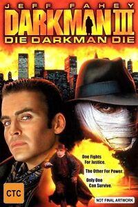 Darkman-3-III-Die-Darkman-Die-DVD-2001-Region-4-Australia