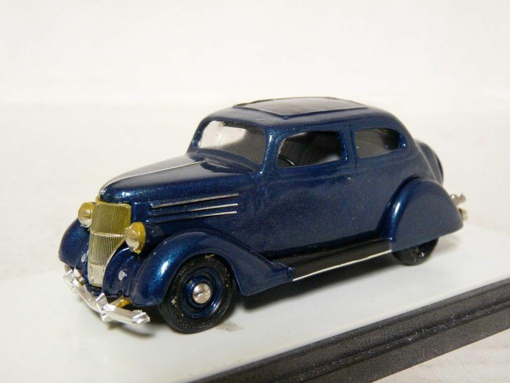 Oakland 1  43 1936 Ford Coupe Handgjort vit Metal modellllerler bil