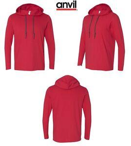Anvil-Lightweight-Long-Sleeve-Hooded-T-Shirt-987
