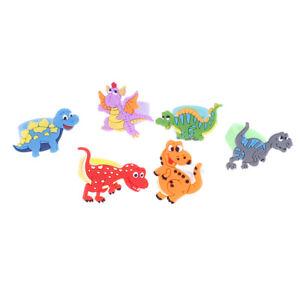 6Pcs-Environmental-dinosaur-ring-female-PVC-ring-children-039-s-cartoon-r-CP