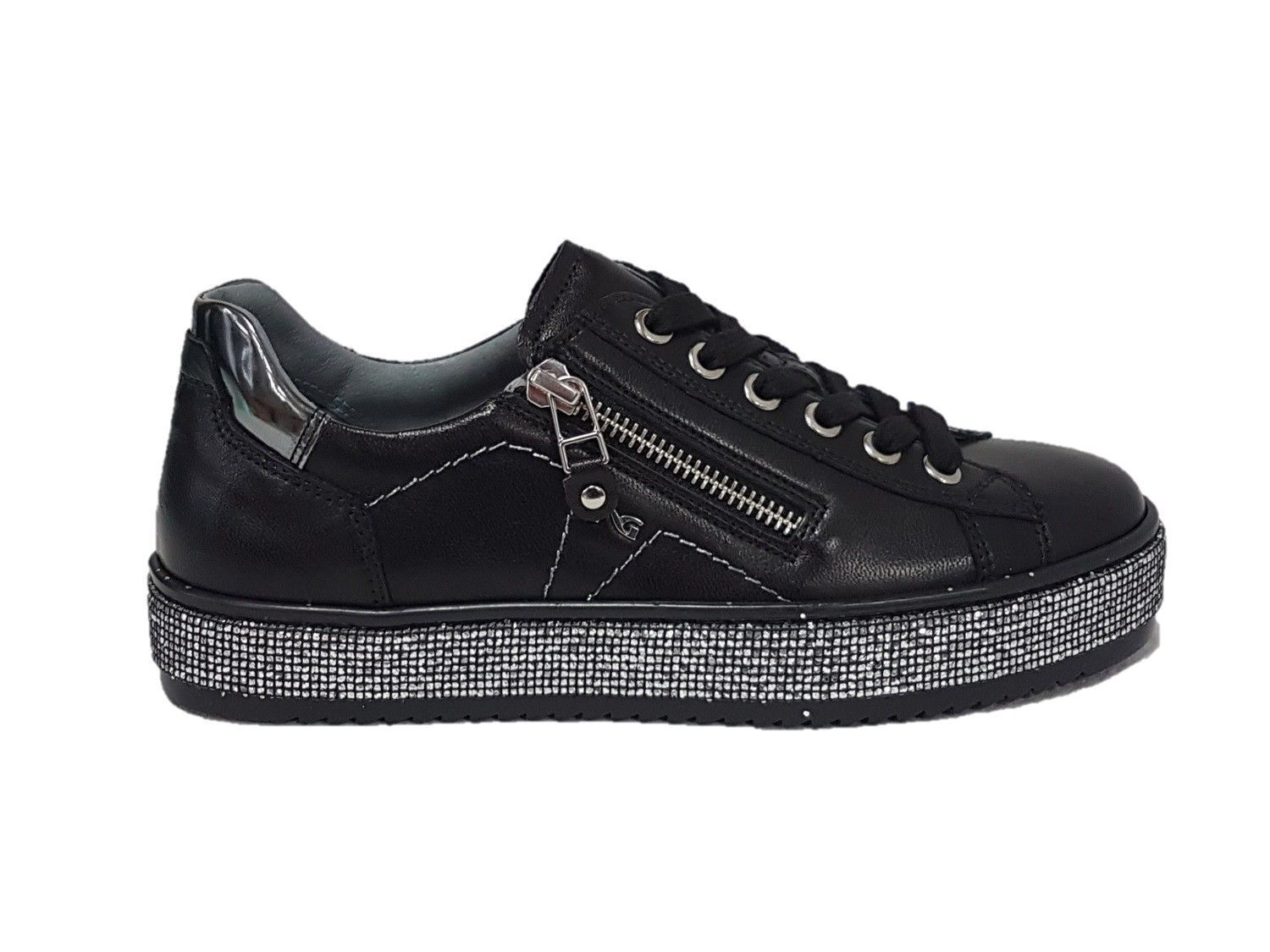SNEAKERS NERO GIARDINI WINTER DONNA  NERO ART.  A806670