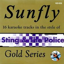 Sunfly Karaoke Gold 26 - Sting & The Police (CD+G/CDG Disc) Direct From Sunfly