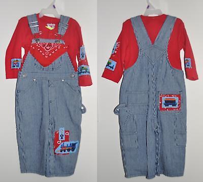 NEW Case International Harvester Bib Overalls blue denim Jeans Infants Toddlers