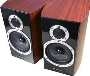 Image Is Loading Wharfedale Diamond 10 1 Bookshelf Speakers Rosewood