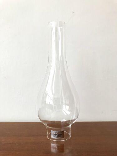 paralume lume a petrolio ceramica e campana vetro olio diametro base 3,7 cm