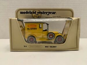 Matchbox-Models-of-Yesteryear-Y-5-1927-Talbot-New-In-Box
