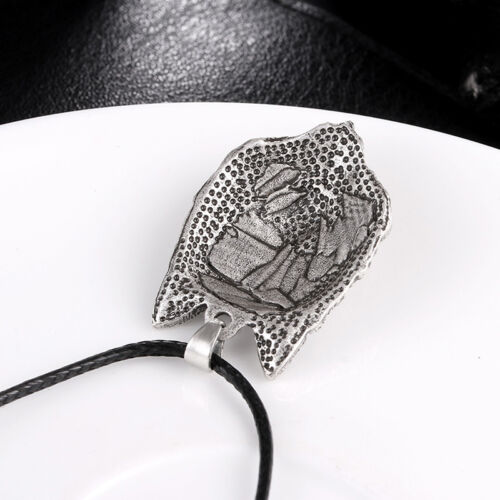 Tibetan Silver Wolf Head Pendant Necklace Amulet Animal Viking Men Gift Jewelr/_K