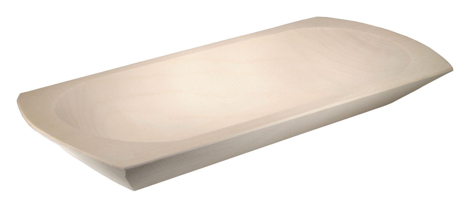 Schlachtemolle Holzmolle Mulle Molle Schale aus Espe 45 x 21 cm - ab
