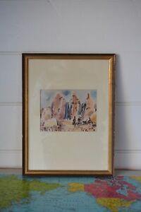 Vintage-Shmuel-Katz-Solomon-039-s-Pillars-print