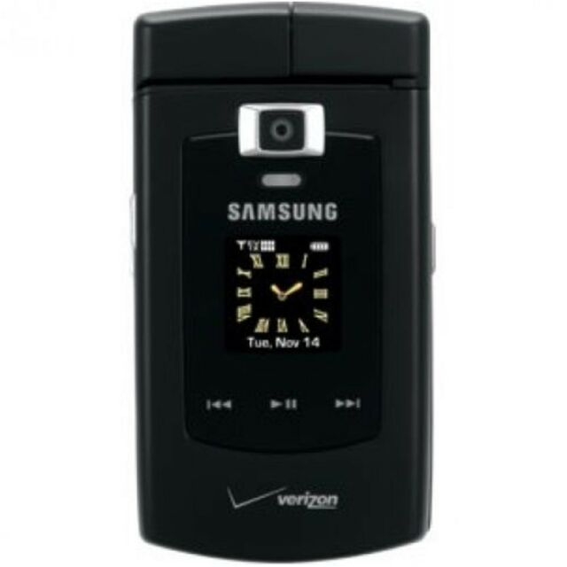 samsung alias sch u740 black verizon cellular phone ebay rh ebay com Verizon Samsung U740 V Review Samsung U740
