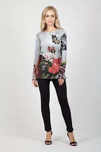 STELLA-MORGAN-FLORAL-LONG-SLEEVE-BUTTERFLY-PRINT-SOFT-TOUCH-TUNIC-JUMPER