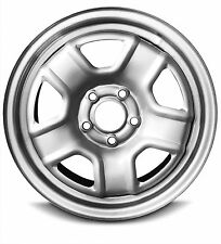 New 14 Jeep Compass 16 Inch 5 Lug Silver Replacement Steel Wheel Rim WAA