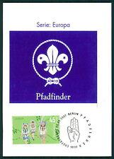 Federal Mk 2007 Europa cept Boy Scout private maximum mapa scouts maxi card mc cm