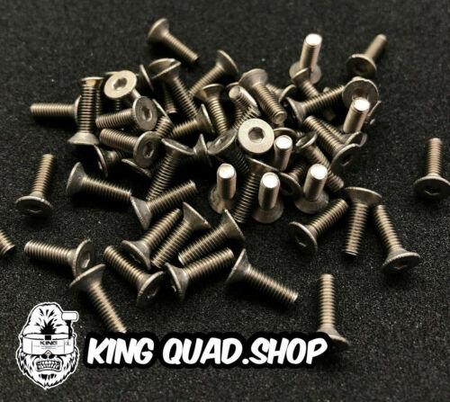 Titanium M3 Counter Sunk Screws 8mm 6AL//4V 25mm 10mm x10