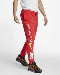 nike jogging homme rouge