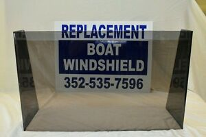 "21 1/2 ""  ID wide center or side boat windshield,    16"" high"