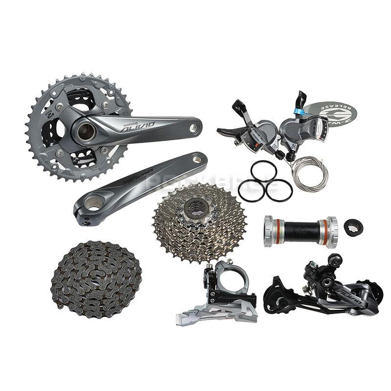 2015 Shimano Alivio Componentes M4000 Bicicleta groupsets groupsets groupsets Grupo conjuntos gruppos 9 Velocidades 7pcs 11798f