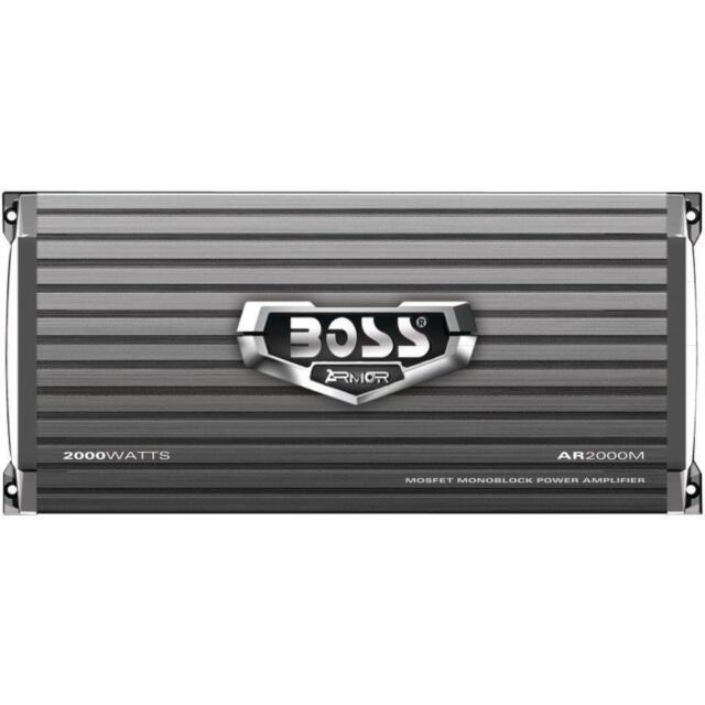 Control Remoto De Subwoofer Amplificador Para Carro Auto Amplifier 1200W BOSS