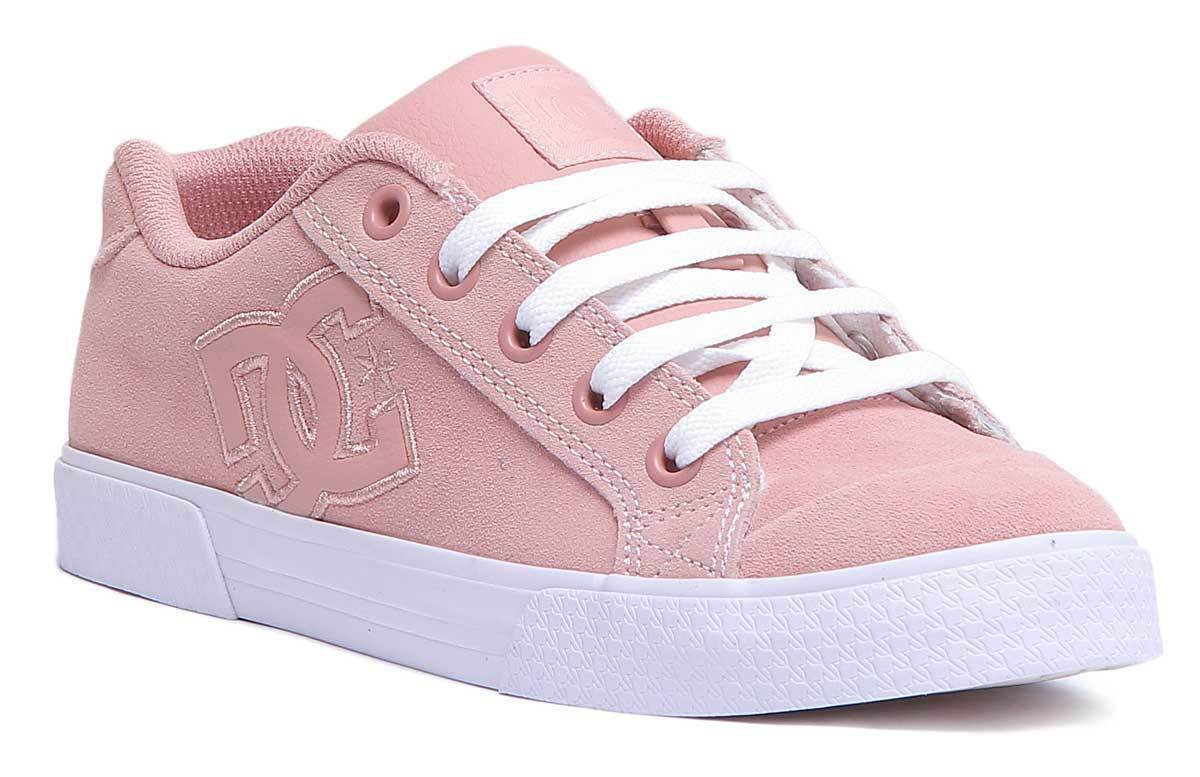DC shoes Chelsea SE Women Suede Leather Peach Parfait Trainers