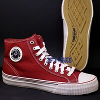 Pf Flyers(by Balance) Center Hi Red Canvas Mens High Top Shoes
