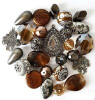 Jesse James Beads Inspiration Collection: Latte High Quality Jewelry Beads