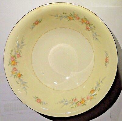 """Homer Laughlin Eggshell Nautilus Ferndale Round Vegetable Serving Bowl 8 1/2"""""""