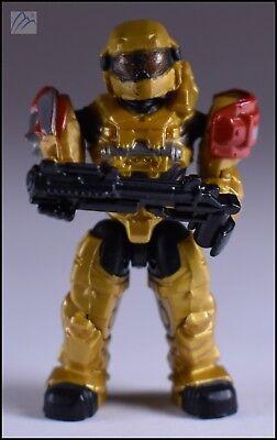 Halo Mega Bloks UNSC SPARTAN GRENADIER in Gold