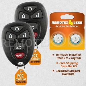 Remote for 2007 2008 2009 2010 2011 2012 2013 2014 Chevrolet Tahoe Keyless Entry