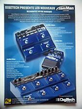 PUBLICITE-ADVERTISING :  DIGITECH JamMan Loopers  02/2011