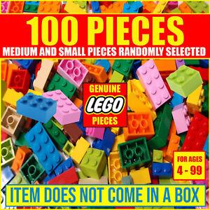 LEGO-BULK-LOT-100-PIECES-MEDIUM-amp-SMALL-PIECES-NO-BRICKS-GENUINE-LEGO