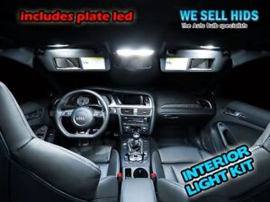 Details About 16x Audi A4 B8 A5 Interior Led Bulbs Kit Xenon White Lights
