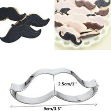 Kitchen Craft Curly Moustache Biscuit, Pastry, Cookie Cutter Fondant Cake Mold