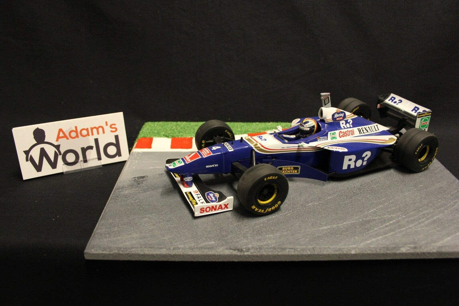 Onyx Williams Renault FW19 1997 1 18  4 Heinz-Harald Frentzen (CAN) (F1NB) 2