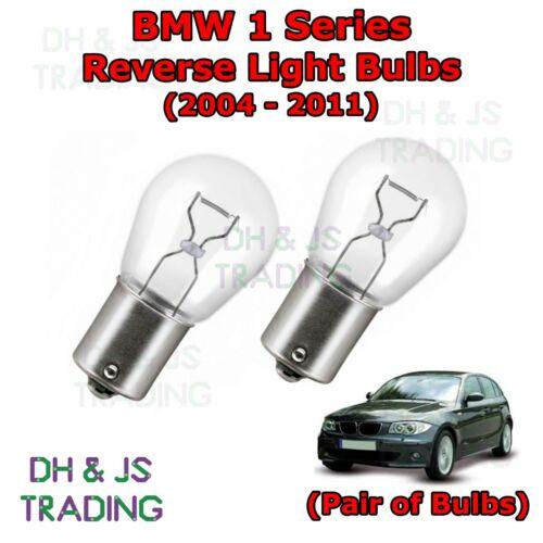 BMW 1 Series Hatch E87 Reverse Light Bulbs 04-11 Lights Rear 382 12v 21w