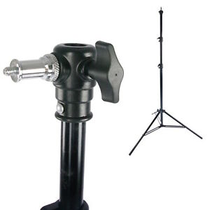 Details About 8 Air Cushioned Folding Leg Photo Studio Light Stand Photography Portable