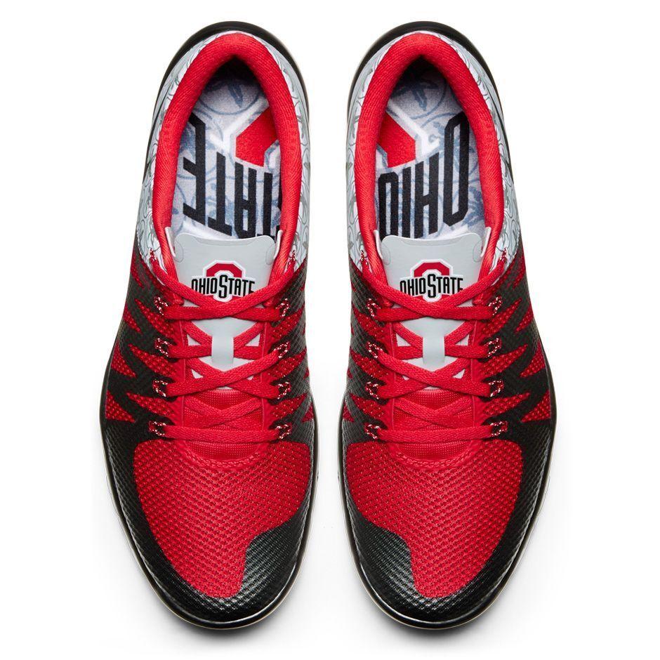 Nike Free Trainer 5.0 OSU size 12.5. Ohio State Buckeyes 723939-006 V6 AMP QS Seasonal price cuts, discount benefits