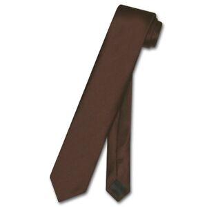 """Vesuvio Napoli Narrow NeckTie Solid ROYAL BLUE 2.5/"""" Skinny Thin Men/'s Neck Tie"""
