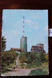 Modeste Carte Postale Vue Carte Thuringe Grand Inselsberg Fermée-afficher Le Titre D'origine