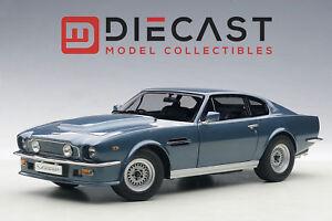 AUTOart-70223-Aston-Martin-V8-Vantage-1985-Chichester-Blue-1-18TH-Scale